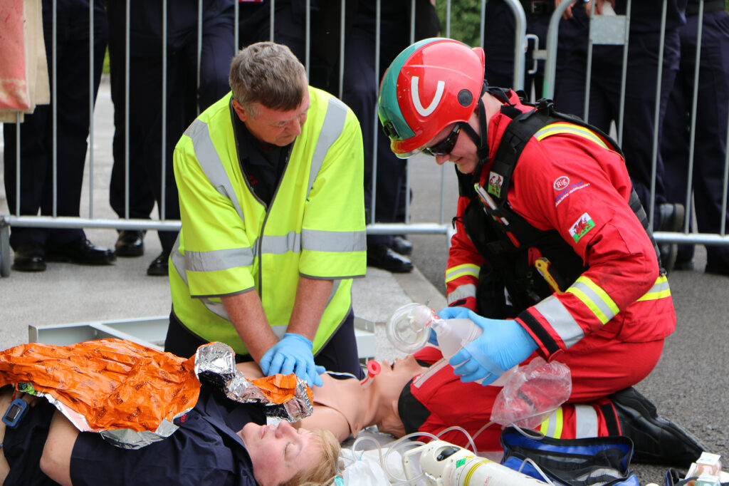 Photo of the trauma challenge