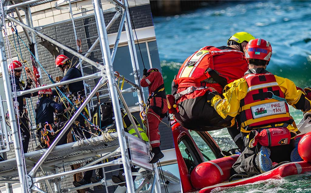 Water And Rope Rescue